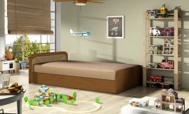 Bed Conan 80x195-light brown
