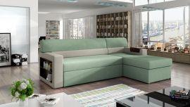 Corner sofa bed Shawnel-light green-right