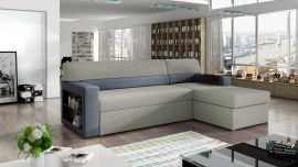 Corner sofa bed Shawnel-light grey-right