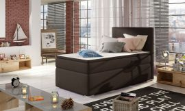 Boxspring bed Forsberg 90x200 cm-brown