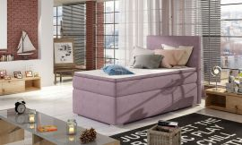 Boxspring bed Forsberg 90x200 cm-purple