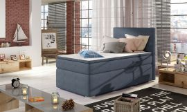 Boxspring bed Forsberg 90x200 cm-blue