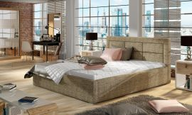 Bed Corbin light brown-160x200cm