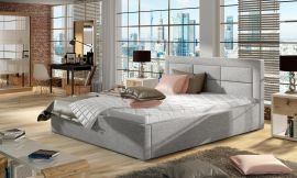 Bed Corbin light grey-160x200cm