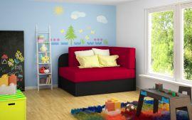 Sofa bed Naila-red