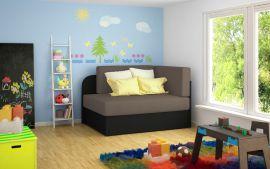 Sofa bed Naila-dark brown
