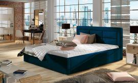 Bed Corbin blue-160x200cm