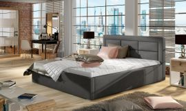Bed Corbin dark-grey-160x200cm