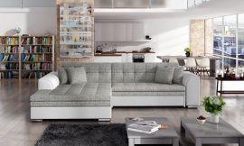 Corner sofa bed Meera-grey-left