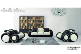 Space 1+2+3 Sofa set-white