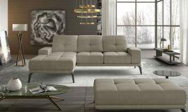 Corner sofa bed Lotte-beige-left