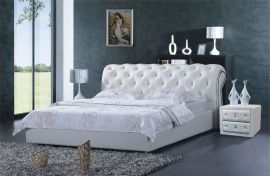 Bed Vegas Style Lux 160-180-160x200cm-white