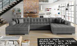 Corner sofa bed Helena-grey