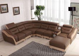 Kulmasohva Vicenza Super Comfort beige-ruskea nahka