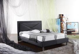 Sänky Villablanca Lux 160-180 musta