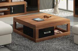 Coffee table Riny-black-brown