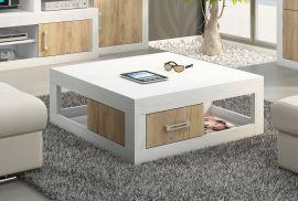 Coffee table Riny-oak-white