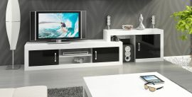 TV-Stand Riny-black-white