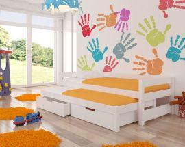Children bed Flynn-white