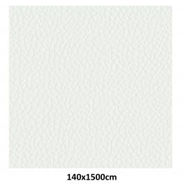 White bonded artificial leather -B